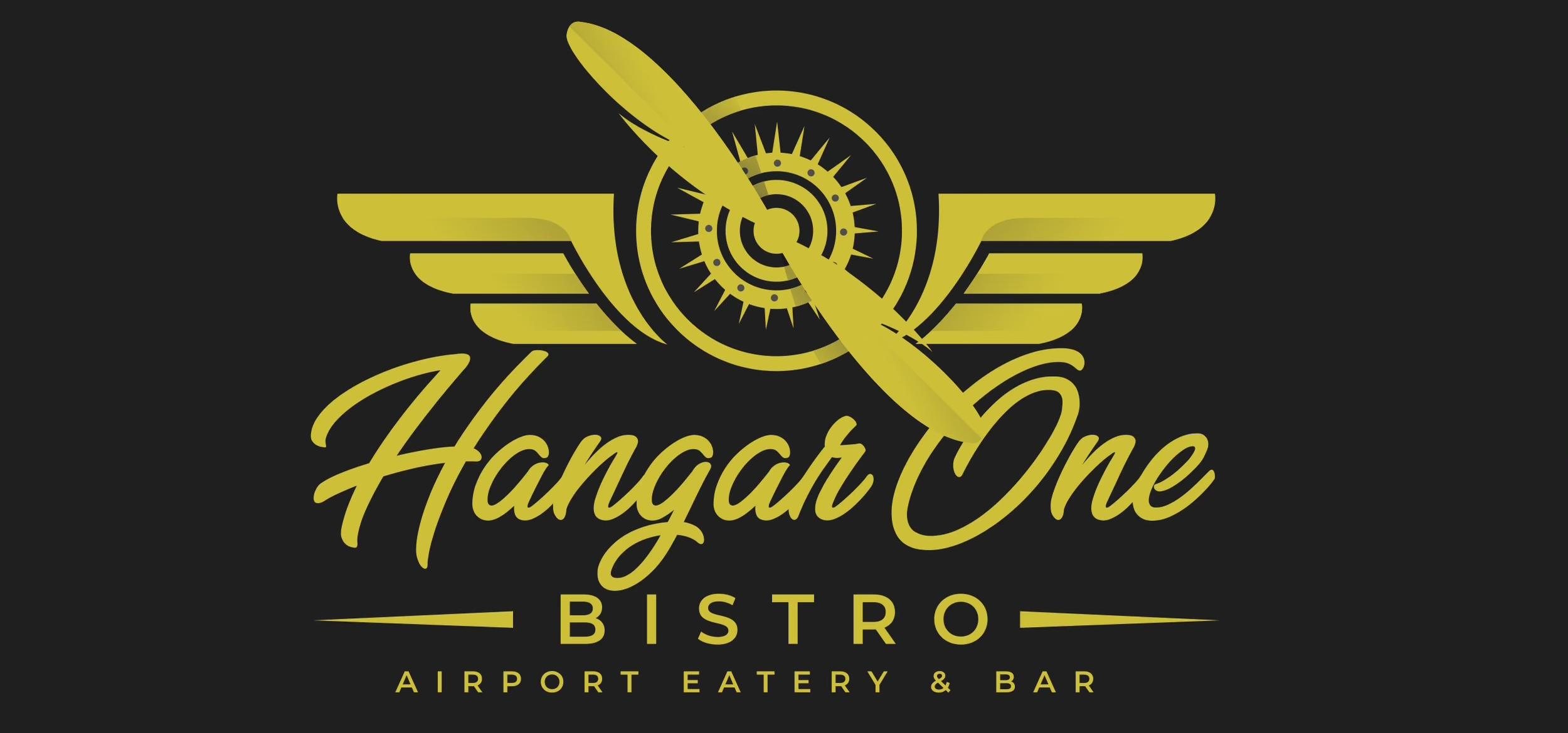 Logo for Hangar One Bistro